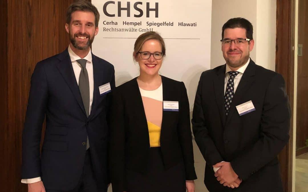 """""""Antitröszt & Versenyjogi megfelelés Kelet-Közép Európában"""" címmel rendezett konferenciát a CHSH és a GCM Parker"""